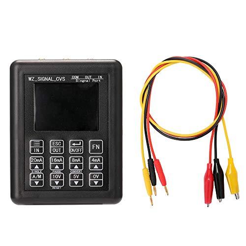 Generador de señales,Baugger- Simulador analógico de alto voltaje ajustable de corriente precisa 0-10V 4-20mA Generador de señal Fuentes