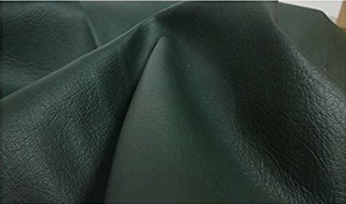 Fabrics-City% DUNKELGRÜN KUNSTLEDER PVC LEDERIMITAT STOFF STOFFE, 3554