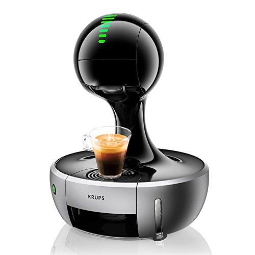 Krups KP 350B Nescafé Dolce Gusto Drop Kaffeekapselmaschine (1500 Watt, automatisch) silber