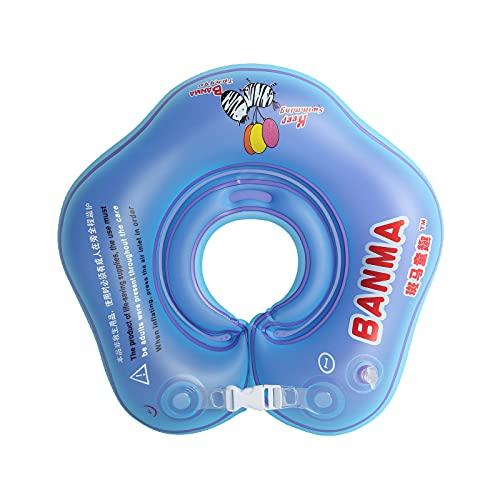 Babypool-Schwimmer, Baby schwimmring Hals, aufblasbare Kinder Schwimmen Schwimmer, Baby-Schwimm-Hals-Ring, Schwimmhilfe Hals Schwimmring, Kinder-Schwimm-Hals-Ring für Baby Kinder Infant (S)
