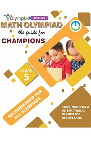 MathsOne Math Olympiad: The Guide for Champions.: CLASS 5 (English Edition)