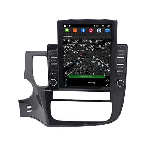 Satisco de navegación Sat Nav GPS, alertas de cámaras de Velocidad y actualizaciones de Asistencia de POI Lane a través de WiFi, adecuados para Mitsubishi Outlander