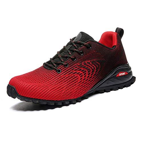Tasdaker Calzado de Trail Running para Hombre Casual Tenis Asfalto Zapatos Deporte Fitness Gym Correr Gimnasio Deportives Atlético Trekking Deportes Calzado