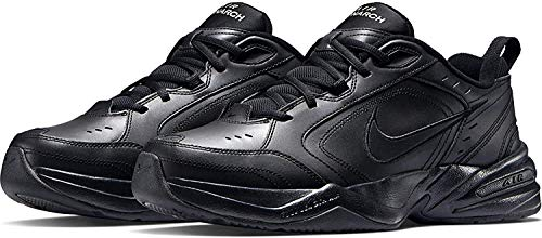 Nike Herren Air Monarch IV Fitnessschuhe, Schwarz (Black/Black 001), 42.5 EU