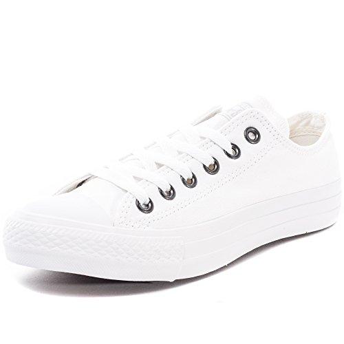 Converse Converse Chuck Taylor All Star, Unisex - Erwachsene Sneaker, Weiß (Monocrom), 39.5 EU