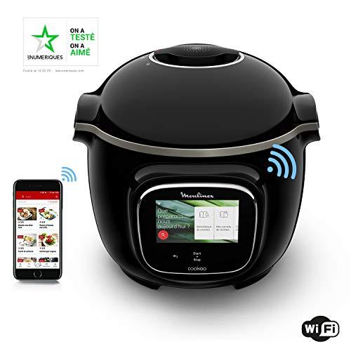 Moulinex Cookeo Touch WiFi Multicuiseur Intelligent Haute Pression Connecté Ecran Tactile 250...