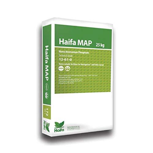 HAIFA Map Fosfato Monoammonico concime fogliare e per fertirrigazione 12-61-0 Sacco 25 kg