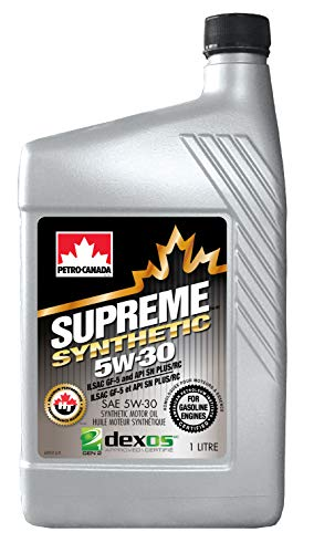 Petro-Canada Supreme synthetische 5W-30 multigrade auto motorolie, 1 l