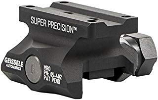 Geissele Automatics Super Precision MRO Series Optic Mount Absolute Co-Witness, Black