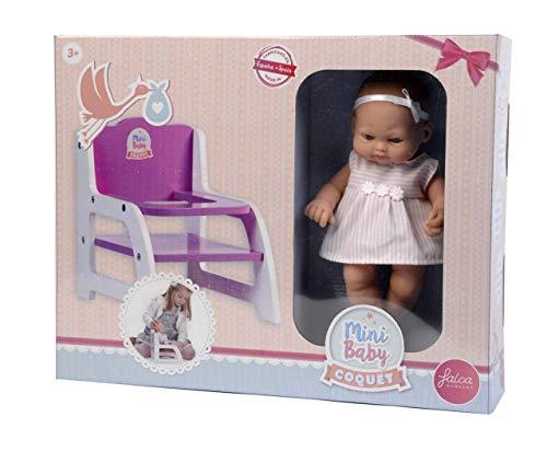 Falca 28008 Baby Puppe mit Zubehör