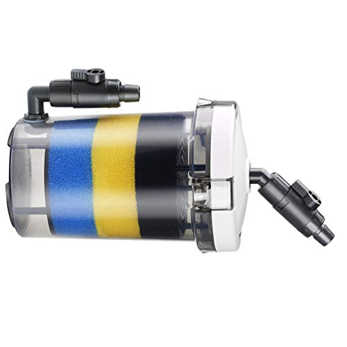 POPETPOP Acuario Filtro Externo Pecera Bomba de Agua para Piscina Fuente de Sistema de Circulación de Agua (Serie LW Transparente)