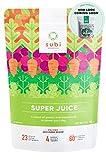 Subi | Meilleur Superfood vert | Ingrédients crus : Matcha, Chou frisé, Herbe d'orge, Spiruline, Acai, Goji Berry + Plus | 40 jours d'approvisionnement