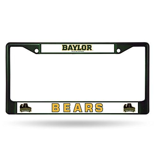 Rico NCAA Baylor Bears Colored Chrome Plate Frame, Dark Green