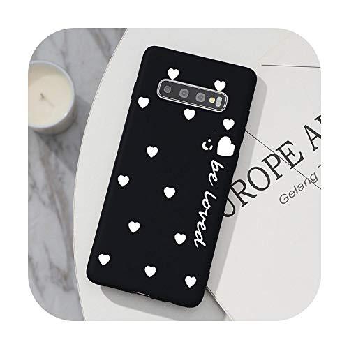 Hopereo Tpu Cover For Samsung Galaxy S20 Ultra Note 10 S10 Lite Pro 8 9 S8 S9 J4 J6 Plus 2018 J5 J7 2017 S6 S7 Edge S10E Love Heart Case-Khe99-Baixyouz-S20 Ultra