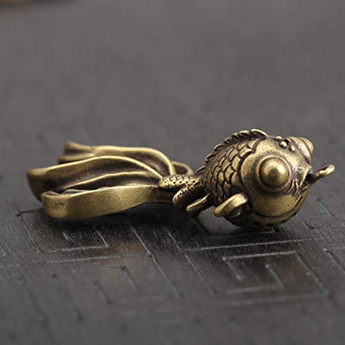 SUNSK Metal Brass Bull Monkey Gecko Scorpion, Gecko Keychain Keychain Gift