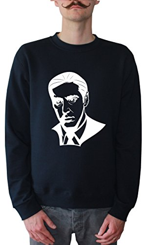 Mister Merchandise Herren Pullover Sweater Al Pacino, Größe: M, Farbe: Navy