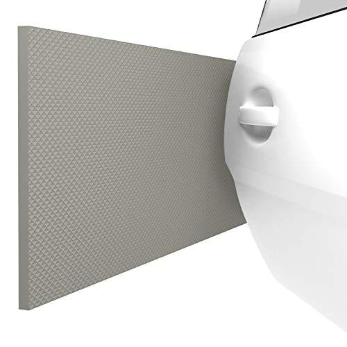 ATHLON TOOLS 2 protectores para pared de garaje FlexProtect, con protección contra incendios, cada uno de 2 m de largo, protector extragrueso del borde de puertas, autoadherente, impermeable