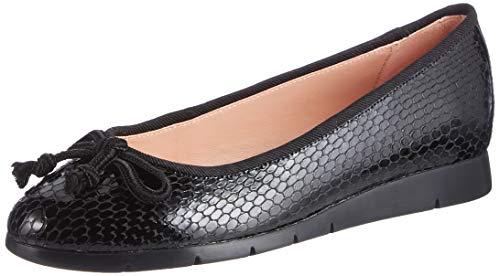 Unisa, Zapatos Tipo Ballet Mujer, Negro, 36 EU