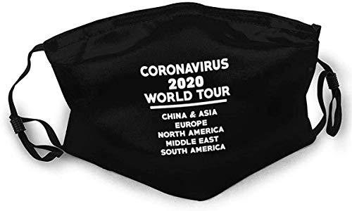 BIT CorOnavirus rld Tour Sided Urban Fashion Washable Face Masks for Men & Women Protect Cover UK Bandana