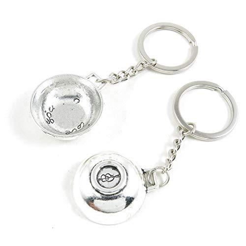 Antieke Zilveren Toon Sleutelhanger Sleutelhanger Sleutelhanger Z2CH5V Wok Pot Sleutelhanger Ring Tag Sieraden Maken Bedels Antiek Zilver