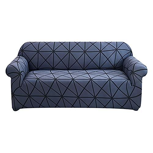Funda de sofá elástica a Prueba de Polvo con Todo Incluido, Fundas Protectoras elásticas para sillón, Sala de Estar, Funda para sofá A7, 1 Plaza