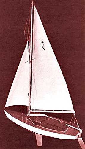 Lightning Sailboat, 19""