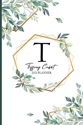 Tiffany Cabot 2021 Planner Weekly and Monthly