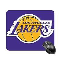 マウスパッド ゲーミングマウスパッド、Los Angeles Lakers ゲーミングマウスパッド おしゃれ 防水 耐久性 滑り止め オフィス ゲーム (20×25×cm)
