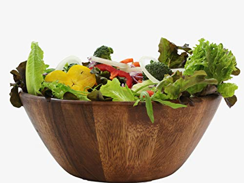 Wooden Premium Acacia Wood Salad Bowl 8 inches