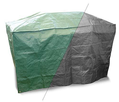 Bosmere Products Ltd P525 Protection d'écran Plus Gourmet à Barbecue 3 brûleurs Housse réversible – Vert/Noir