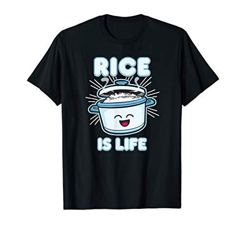 Rice Is Life Filipino Shirt Food Philippines Gift Kawaii Top T-Shirt