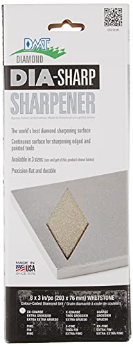 DMT D8XX 8-inch Dia-Sharp Continuous Diamond - Extra-Extra-Coarse (120 Mesh) -