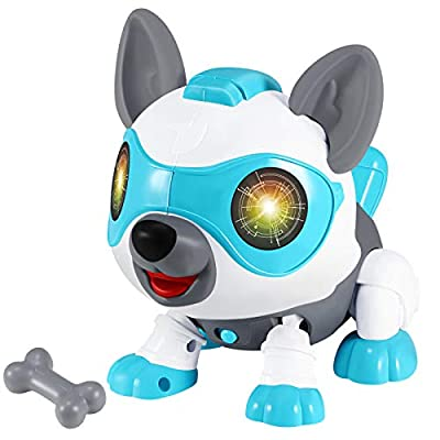 Selieve Power Your Fun Robot Dog Pets - DIY Robot Toy, Smart Robot Puppy, Toys for Boys and Girls by Selieve