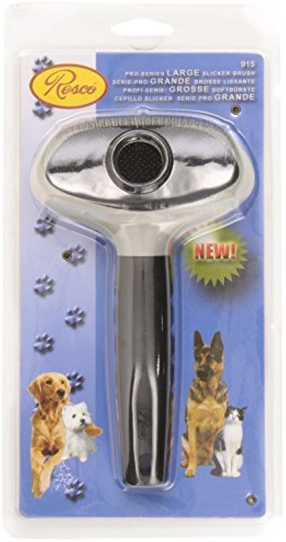 Resco ProSeries Slicker Brush, Best Mat Remover for Dog, Cat, Pet Grooming, Large by Resco