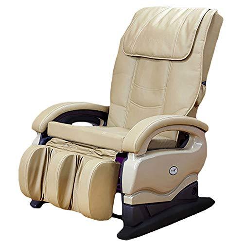 Massage chair Sillón de Masaje Inteligente para Todo el Cuerpo Sillón Silla de relajación,Beige ⭐