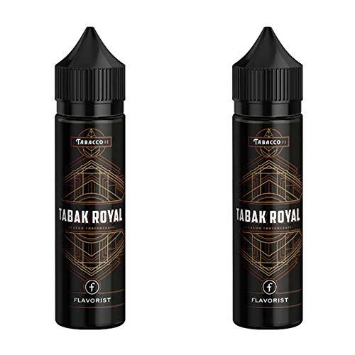 2 Flaschen Longfill Aroma - Flavorist - Tabak Royal - Doppelpack ohne Nikotin