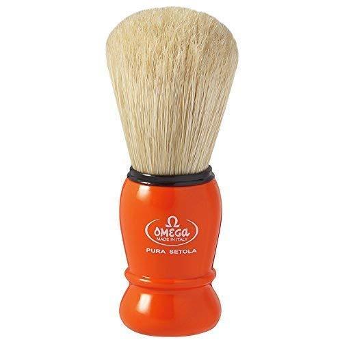 Omega Max 55% OFF Shaving Brush #10290 Pure Max 49% OFF Bristles Orange Boar