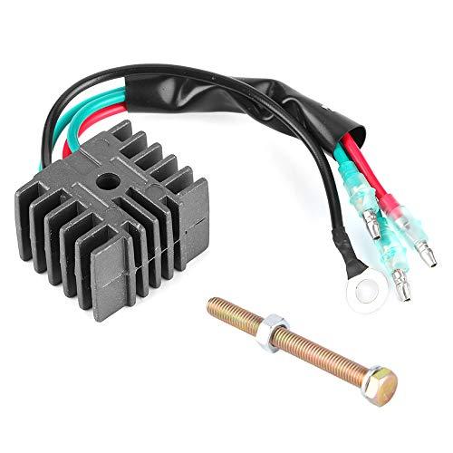 Regulador rectificador Apto para Mariner Toh-atsu 4hp-70hp Accesorio para fueraborda de 2 Tiempos 6F5‑81960‑00 6F5‑81960‑60 61 62