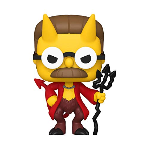 Funko- Pop Animation: Simpsons-Devil Flanders Figura Coleccionable, Multicolor (50141)