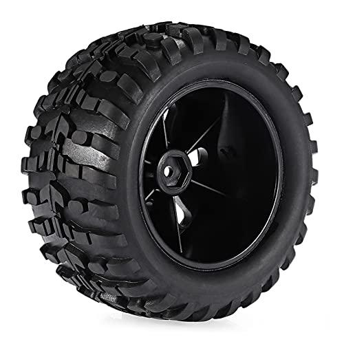 UJETML (H) Neumáticos RC Crawler Surfass 2pcs 4pcs 120mm 1/10 RC Wheels 0 Neumáticos de Camiones RC Crawler Llantas Llantas Off Road para RC Car SCX10 0 0 0 Neumáticos RC Slash 4x4 Neumáticos