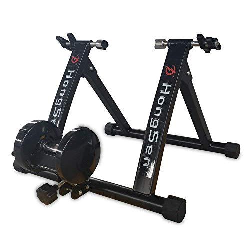 SHIOUCY Rodillo Entreno para Bicicleta, 24-27 '' Bicicleta de Bicicleta de Ejercicio con Rodillo para Ejercicios con Freno magnético (Carga máxima de 330 LB)