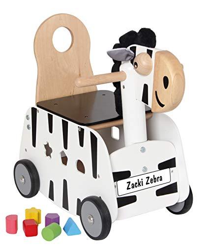 Bartl 500751 Schiebewagen Zacki Zebra