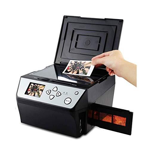 WCJ Escáner de película de 35 mm, Convierte / 135slides y NegativesFilm escáner de Fotos, Tarjetas de Nombre, de Alta Velocidad multifunción Foto/Tarjeta de Visita del escáner