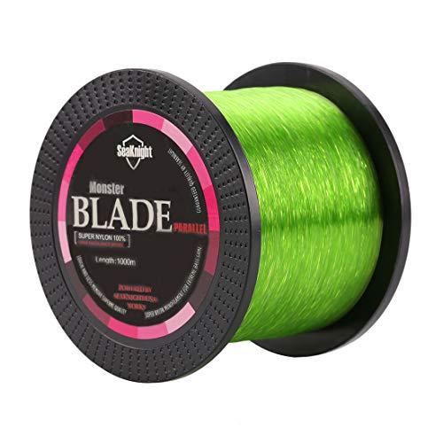 SeaKnight Blade, monofile Angelschnur aus japanischem Nylonmaterial, 1000 m, für 0,9 bis 15,9 kg, Herren, grün