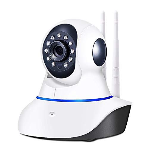 QinLL IP-camera, WiFi draadloze beveiligingscamera, Indoor Dome Pet Baby Monitor, Pan/Tilt 1080P/720P HD Night Vision bewakingscamera, bb