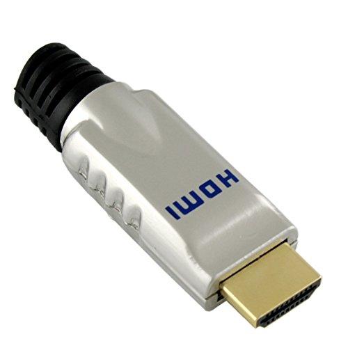 Ligawo Metall Eigenbau HDMI Stecker für AWG 24-30 Kabel