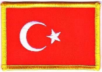 Flaggen Aufnäher Patch Türkei Fahne Flagge NEU by FahnenMax®