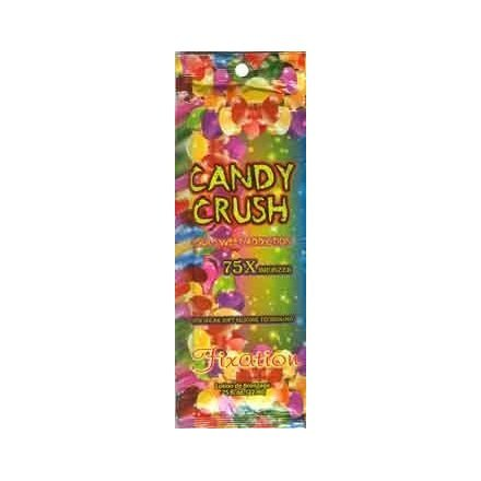 5 Candy Crush 75x Bronzer Tanning Lotion Packets by Fixation