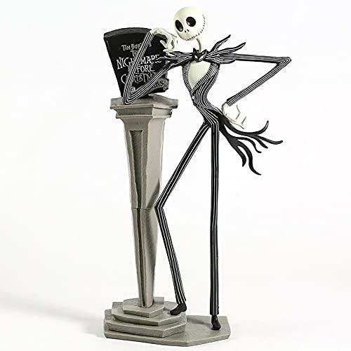 Geyang 12 '30 cm La Pesadilla Antes De Navidad Jack Skellington 25 Aniversario Figura De Pvc Modelo De Juguete Coleccionable