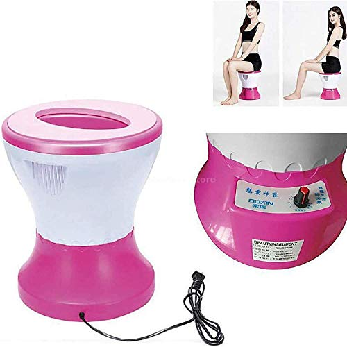 X&J Fumigation Instrument, Steam Seat, Vaginal Care, Far Infrared Steam Seat Herbal Evaporator Sitting Fumigation Instrument for Women's Healthy Hip Ray
